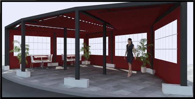 Toldos para hosteler a instalaci n y montaje al mejor precio for Tipos de toldos para patios